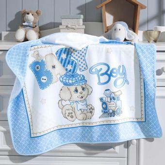 Toalha-de-Banho-para-Bebe-com-Capuz-Dohler-Baby-Boy