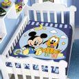 Cobertor-Bebe-Jolitex-Raschel-Mickey-e-Pluto-Feliz-Azul