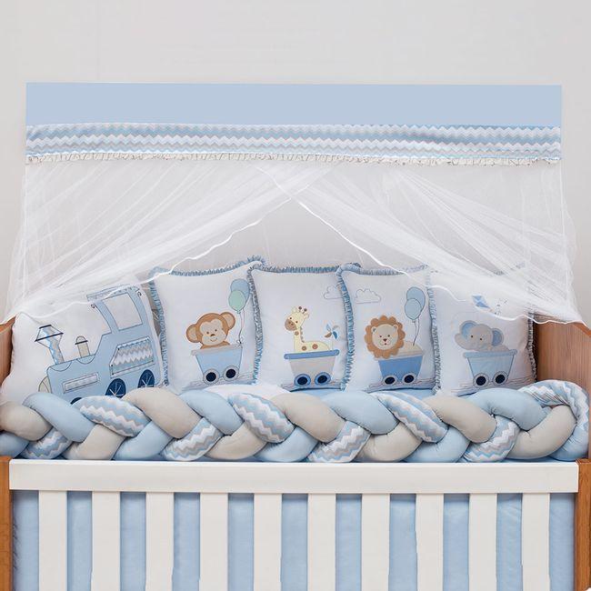 Kit-Berco-10-Pecas-Trenzinho-Azul-Bebe-Baby-Magia-Brubrelel