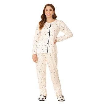Pijama-Feminino-Manga-Longa-com-Calca-Pzama-Meia-Malha-Coracao-Marinho--M-