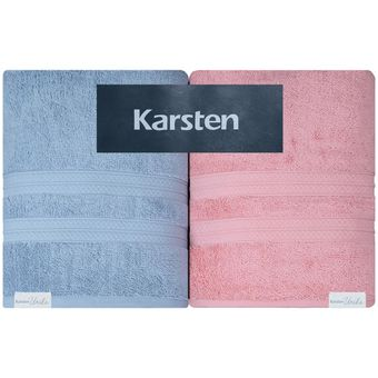 Jogo-de-Toalhas-Banhao-4-Pecas-Karsten-Unika-500-g-m²-Allure-Pink