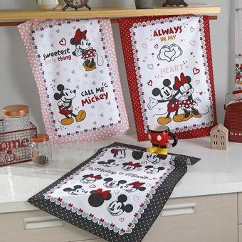 Kit-Pano-de-Prato-Felpudo-6-Pecas-Dohler-Mickey-e-Minnie-10
