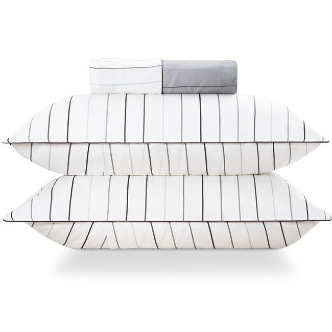 Kit-Capa-para-Edredom-Duvet-Casal-300-Fios-com-Porta-Travesseiros-The-Time-By-The-Bed-