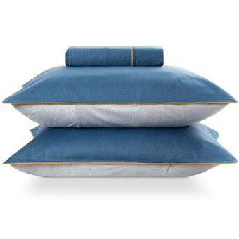 Kit-Capa-para-Edredom-Duvet-King-Size-300-Fios-com-Porta-Travesseiros-The-Hustle-By-The-Bed-
