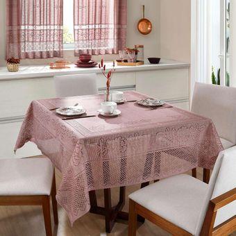 Toalha-de-Mesa-Quadrada-Rendada-Color-150x150cm-Interlar-Rose