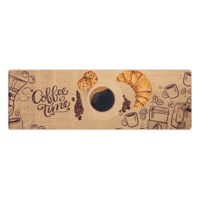 Tapete-Passadeira-Jolitex-Bistro-Coffe-Time-40x120cm
